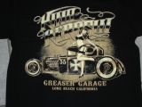 King Kerosin Regular T-Shirt / Greaser Garage - schwarz