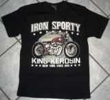 King Kerosin Regular T-Shirt / Iron Sporty