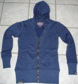 Sweatjacket Bad Girls Night Club von Queen Kerosin / blue