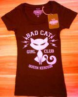 Queen Kerosin Longshirt / Nst - BAC / Bad Cat - schwarz