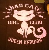 Queen Kerosin Longshirt / Nst - BAC / Bad Cat - schwarz