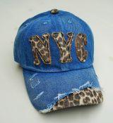 Jeans Vintage Trucker Cap -Dunkelblau / Leo