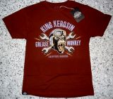 King Kerosin Regular T-Shirt Cinnamon Brown / Grease Monkey