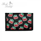 Rock Daddy - Wallet with chain in cherry design / schwarz