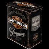 Blech Vorratsdose Large - Harley-Davidson Genuine Logo