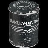 Blech Vorratsdose Rund - Harley-Davidson Skull
