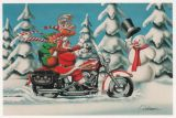 X-Mas Cards Motorcycle  X - 209