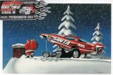 X-Mas Cards Race Cars  X - 243
