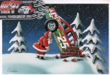 X-Mas Cards Race Cars  X - 188