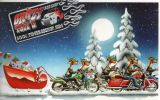X-Mas Cards Motorcycle  X - 546