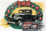 X-Mas Cards Custom Cars  X - 621