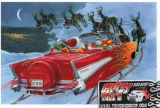 X-Mas Cards Custom Cars  X - 677