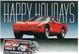 X-Mas Cards Custom Cars  X - 379