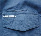 King Kerosin Lang Arm Worker Shirt - Greaser Car Club