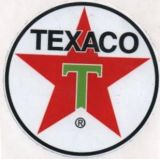 Vintage Race Sticker - Texaco