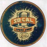 Vintage Race Sticker - SoCal Speed Shop 1946 Vintage Signs