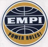 Race Sticker - EMPI Power Rules!