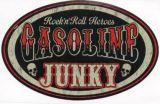 Vintage Race Sticker - Gasoline Junky