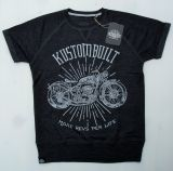 Cut Raglan Sweater from King Kerosin-MRPL/Motorcycles