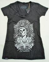 Queen Kerosin Batik Vintage Shirt /Rockabilly Rules-schwarz
