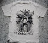 King Kerosin Regular T-Shirt offwhite / Srew Hard