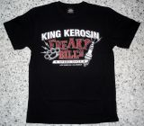 King Kerosin Regular T-Shirt black / Freaky Bill`s