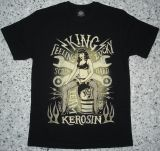 King Kerosin Regular T-Shirt black / Srew Hard