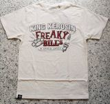 King Kerosin Regular T-Shirt offwhite / Freaky Bill`s