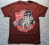 King Kerosin Regular T-Shirt Cinnamon Braun / Speed & Style