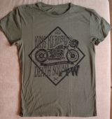 Watercolor-Shirt von King Kerosin / Death Squad - olive