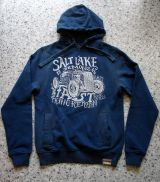 Used-Airbrush-Hoodie blau - Salt Lake Demons
