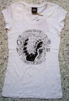 Queen Kerosin Longshirt / Nst - Wild Cat weiss