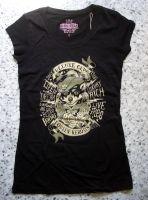 Queen Kerosin Girlie Longshirt / Nst - Deluxe Club / black