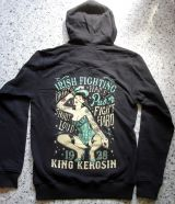 King Kerosin Standard Hoodiejacket - Irish Fighting