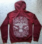 Used-Airbrush-Zipper rot King Kerosin - Ride or Die / Time is Running