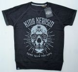Cut Raglan Sweater von King Kerosin-MRPL/Skull