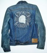 Speedrebel Bikerjacke Leder/Jeans von King Kerosin - Ride Hard