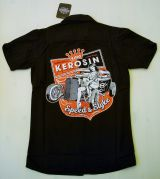 King Kerosin Worker Shirt -  Speed & Style