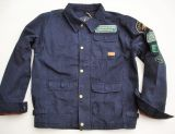 Vintage-Canvas-Jacket midnight blue -  San Antonio