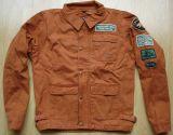 Vintage-Canvas-Jacket rust brown - MRPL Skull