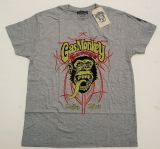Gas Monkey Garage T-Shirt - Pinstripe grau