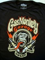 Gas Monkey Garage T-Shirt - Spark Plugs black