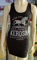 Melange Tankdress von Queen Kerosin - Bakersfield/schwarz