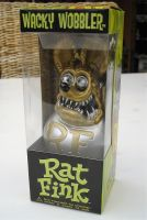 Wobbler - Rat Fink / Metallic Gold-Silber