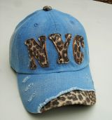 Jeans Vintage Trucker Cap - Blau / Leo