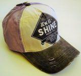Vintage Trucker Cap - Jewel Shine - silber/schwarz