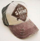 Vintage Trucker Cap - Jewel Shine / grün-braun