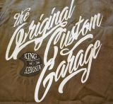 Vintage-Canvas-Shirt dusty olive - The Orig. Custom Garage