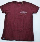 Batik Vintage Shirt raisin brown - Rockabilly Rules / Limited Edtion