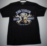 King Kerosin Regular T-Shirt / Grease Monkey - schwarz